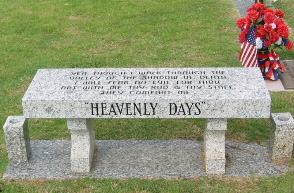 Granite  Memorial Benches & Cremation Benches